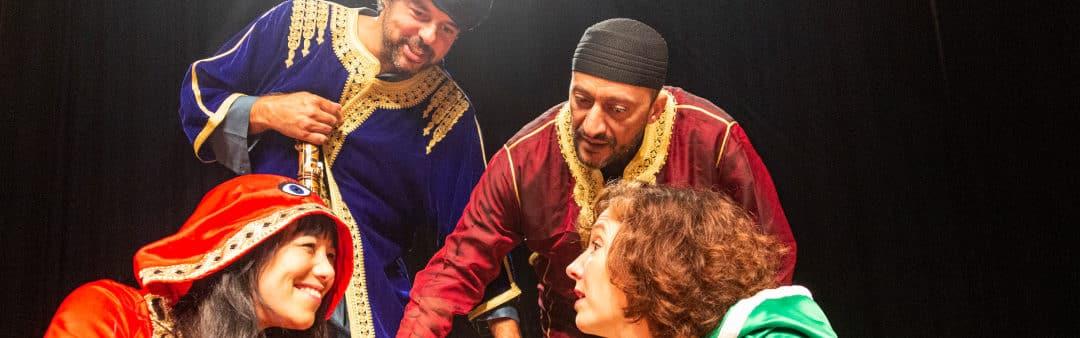 De Liedjes Tovenaar en de magie van Marokko (4+)